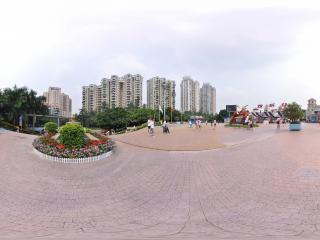 深圳欢乐谷前的广场