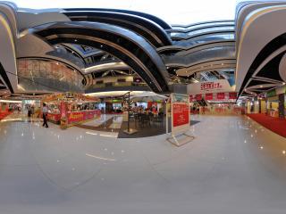 深圳华南城1号交易广场内部休闲餐吧