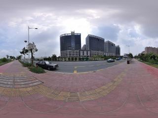 深圳华南城附近的大街