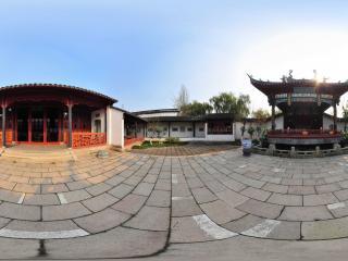 江苏同里古镇 庭院