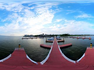 阳澄湖莲花岛码头