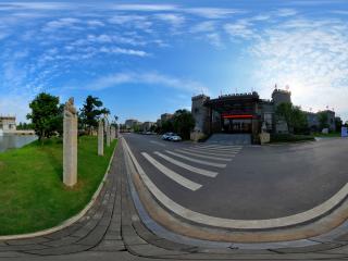 三国雕塑园赤壁驿馆