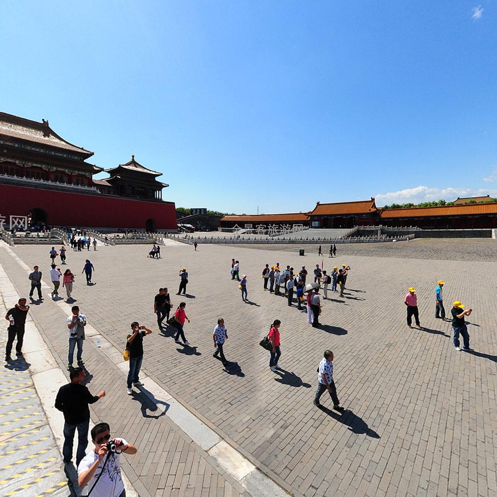北京市东城区故宫太和门高清图片
