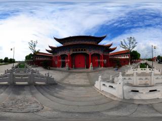 皇罗禅寺大雄宝殿