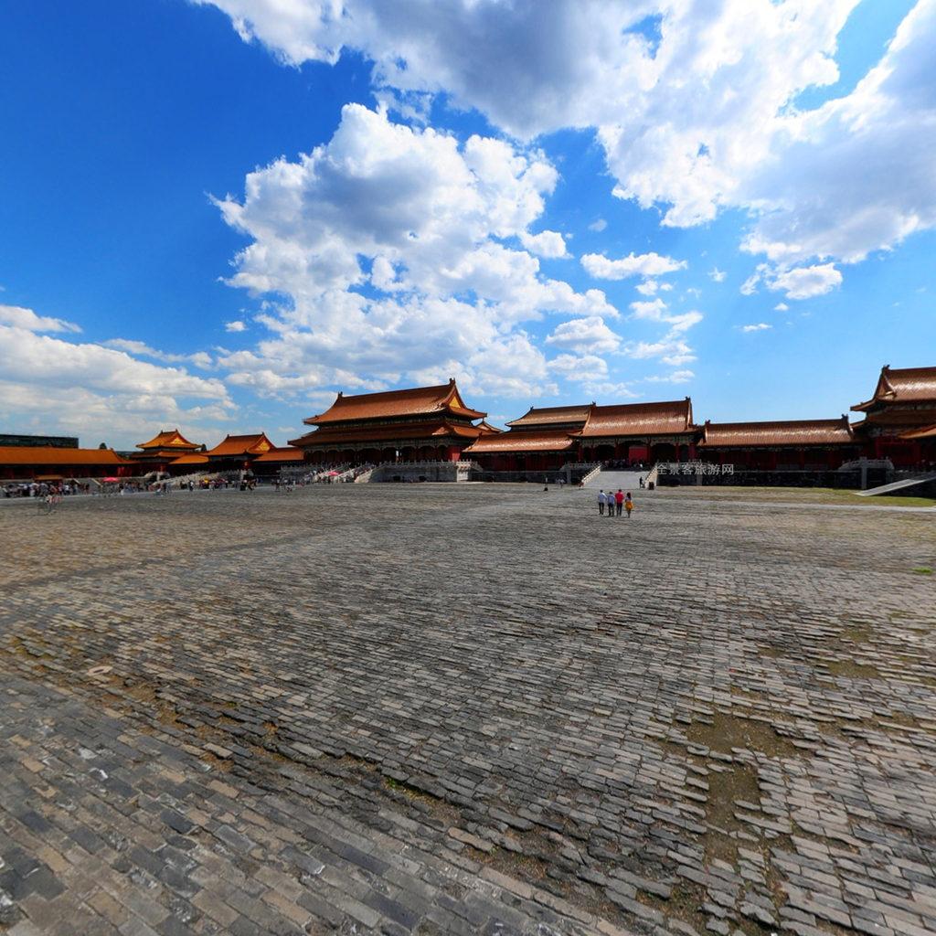 北京市故宫弘义阁高清图片