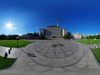 清华大学主楼全景