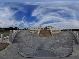 天坛圜丘全景