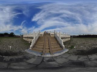 天坛圜丘阶梯全景
