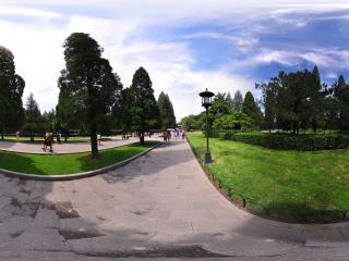 天坛公园小路