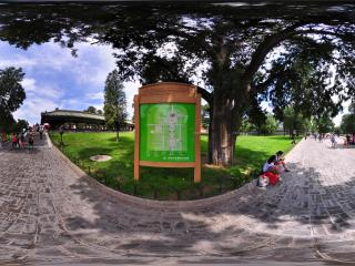 天坛公园指示牌