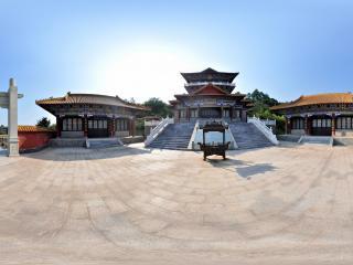 江西省南康市旭山公园孔子文化馆