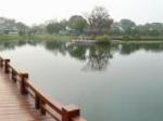 湖南长沙橘子洲公园1全景