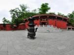 黔灵山罗汉堂全景