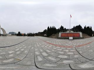 韶山市英雄纪念园全景