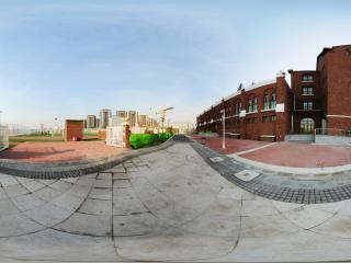 天津大学附属小学操场入口