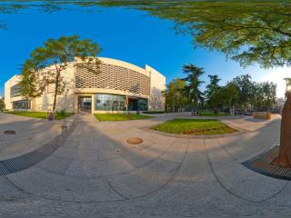 河北省图书馆西门