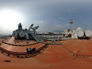 明思克航母世界虚拟旅游