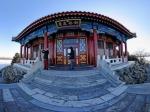 北京颐和园全景