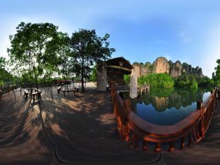 浴仙池游客休息区