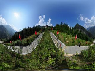 神农祭坛全景