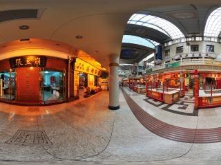 天津南市食品街全景