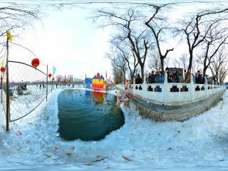 冬泳-勇敢者的精神全景