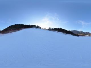 滑雪场全景