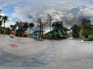 海口公园门口