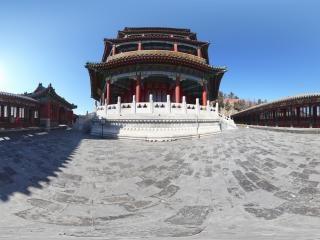 颐和园 之 佛香阁全景