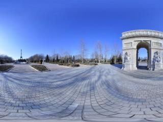 世界公园--凯旋门全景