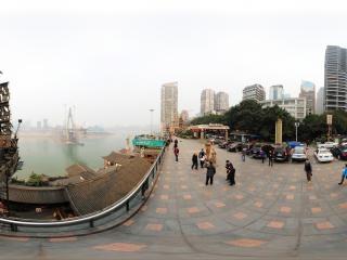 重庆洪崖洞全景