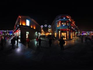 第十期全景摄影夜景教学活动——前门大街