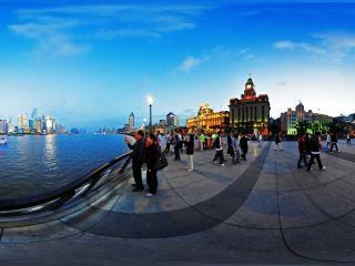 上海外滩2012/05/02/19:00