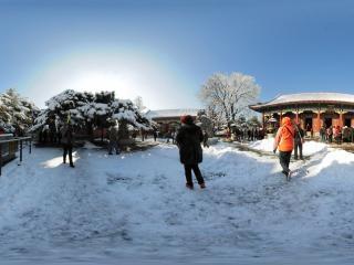 颐和园雪景(一)全景