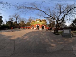 北京香山卧佛寺全景