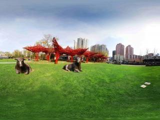 静安雕塑公园全景