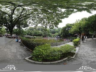 东莞市人民公园内全景