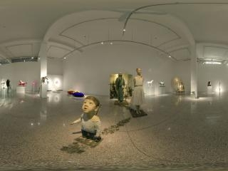 798零艺术中心雕塑:《江湖》全景