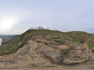 黄河山西永和段全景