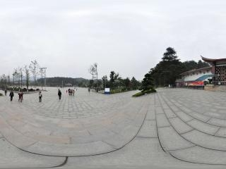 毛泽东纪念馆全景