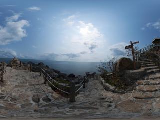 三亚西岛全景