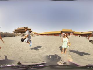 北京故宫全景