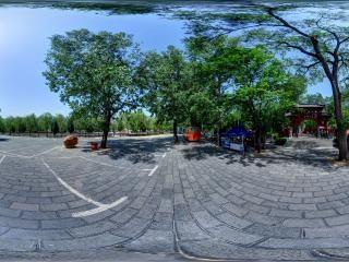 河南嵩阳书院全景