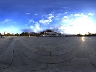 西藏布达拉宫全景