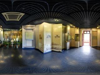 广州大元帅府展览大厅全景