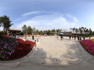 北京园博园 正门全景