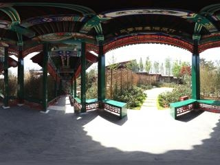 北京园内一角全景