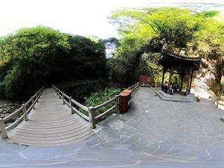 重庆黑山谷全景
