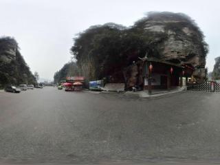 宝峰湖全景