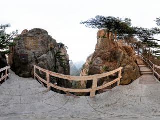 安徽黄山全景